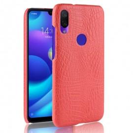 Coque Xiaomi Redmi 7 Croco Cuir Rouge