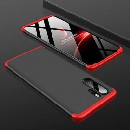 Coque 360 Huawei P30 Pro Noir et Rouge