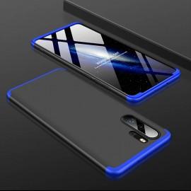 Coque 360 Huawei P30 Pro Noir et Bleue