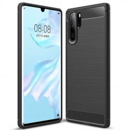 Coque Silicone Huawei P30 Pro Brossé Noir