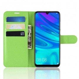 Etuis Portefeuille Huawei P30 Pro Simili Cuir Vert