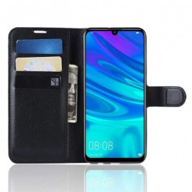 Etuis Portefeuille Huawei P30 Pro Simili Cuir Noir