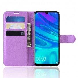 Etuis Portefeuille Huawei P30 Pro Simili Cuir Lila