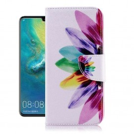 Etuis Portefeuille Huawei P30 Pro Plumes