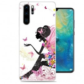 Coque Silicone Huawei P30 Pro Fée