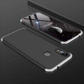 Coque 360 Samsung Galaxy A40 Noire et Grise