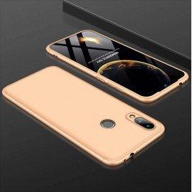 Coque 360 Samsung Galaxy A40 Dorée