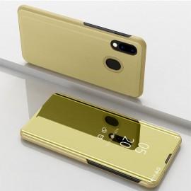 Etuis Samsung Galaxy A40 Cover Translucide Dorée