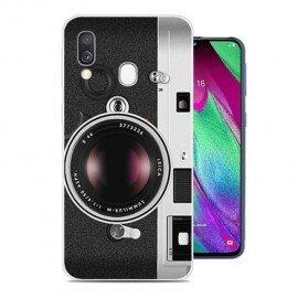 Coque Silicone Samsung Galaxy A40 Caméra