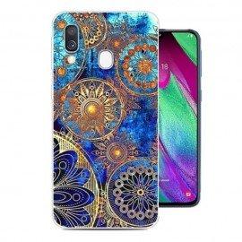 Coque Silicone Samsung Galaxy A40 Mandala