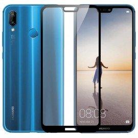 Verre trempé Huawei P20 Lite Protecteur d'écran Noir