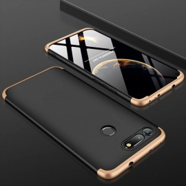 Coque 360 Honor View 20 Noir et Or