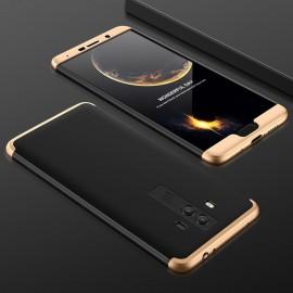 Coque Huawei Mate 10 360º Or et Noir