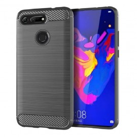 Coque Silicone Honor View 20 Brossé Gris