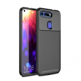 Coque Honor View 20 Carbone TPU Noire