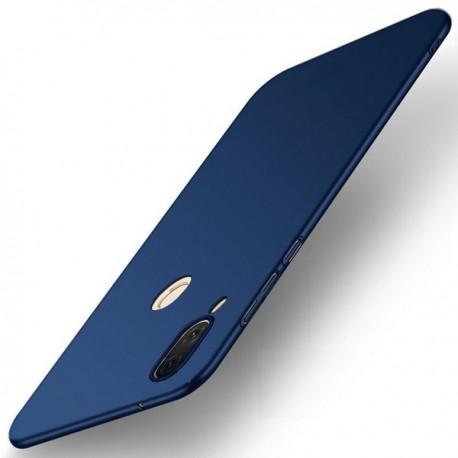 Coque Silicone Huawei P20 Lite Extra Fine Bleu