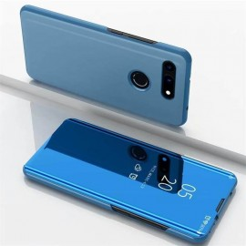 Etuis Honor View 20 Cover Translucide Bleue