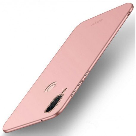 Coque Silicone Huawei P20 Lite Extra Fine Rose