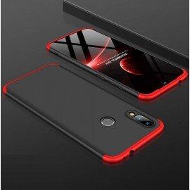 Coque 360 Xiaomi Mi Play Noir et Rouge