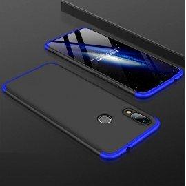 Coque 360 Xiaomi Mi Play Noir et Bleue