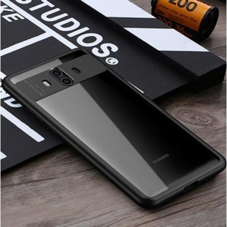 Coque Huawei Mate 10 Silicone hybride Noir