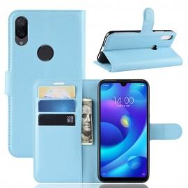 Etuis Portefeuille Xiaomi Mi Play Simili Cuir Bleue
