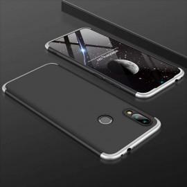 Coque 360 Samsung Galaxy A20 Noire et Grise