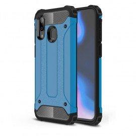 Coque Samsung Galaxy A20 Anti Choques Bleue