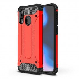 Coque Samsung Galaxy A20 Anti Choques Rouge
