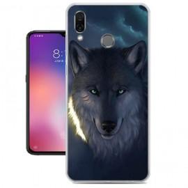 Coque Silicone Xiaomi Mi Play Loup
