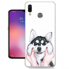 Coque Silicone Xiaomi Mi Play Chien