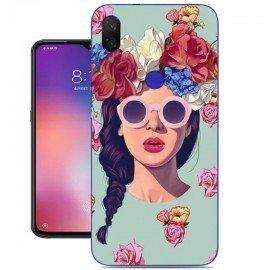 Coque Silicone Xiaomi Mi Play Fille Hipster