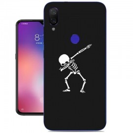 Coque Silicone Xiaomi Mi Play Squelettes