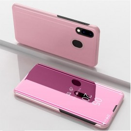 Etuis Samsung Galaxy A20 Cover Translucide Rose