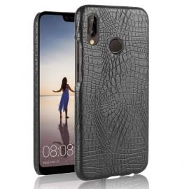 Coque Huawei P20 Lite Cuir Noir