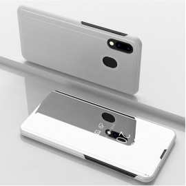 Etuis Samsung Galaxy A20 Cover Translucide Gris Argent
