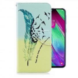 Etuis Portefeuille Samsung Galaxy A20 Liberté