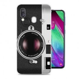 Coque Silicone Samsung Galaxy A20 Caméra