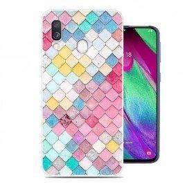 Coque Silicone Samsung Galaxy A20 Aquarelles