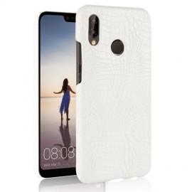 Coque Huawei P20 Lite Cuir Blanc