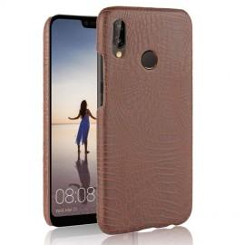 Coque Huawei P20 Lite Cuir Marron