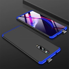 Coque 360 Xiaomi Redmi K20 Noir et Bleue
