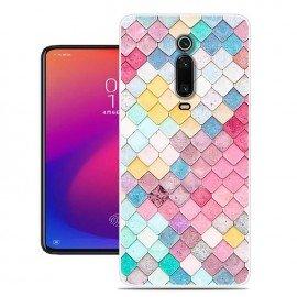 Coque Silicone Xiaomi Redmi K20 Aquarelles