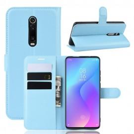 Etuis Portefeuille Xiaomi Redmi K20  Simili Cuir Bleu