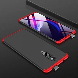 Coque 360 Xiaomi MI 9T Noire et Rouge