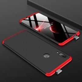 Coque 360 Huawei P Smart Z Noir et Rouge