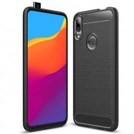 Coque Silicone Huawei P Smart Z Brossée Noir
