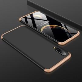 Coque 360 Samsung Galaxy A70 Noir et Or