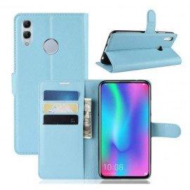 Etuis Portefeuille Huawei P Smart Z Simili Cuir Bleu