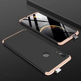 Coque 360 Huawei P Smart Z Noir et Or